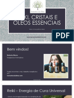 Reiki Cristais e Óleos Essenciais-eBook