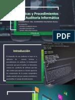 Técnicas y Procedimientos en Auditoria Informática