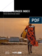 hunger index of 2018