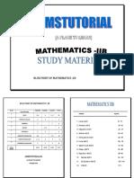 Mathematics 2b Study Material