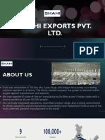 Shahi Exports Pvt