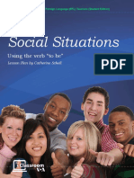 Social Function using To Be