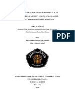 35631 ID Pengawasan Hakim Mahkamah Konstitusi Oleh Komisi Yudisial Menurut Undang Undang