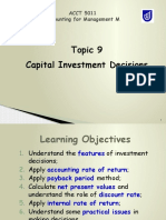 Topic 9 Capital Investment Decisions.pptx
