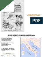 10_arquitectura Romana 1era Parte