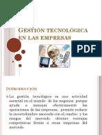 GESTION TECNOLOGICA