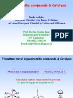 Organometallics and Catalysis_IV