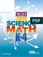Activities Linking Science With Math