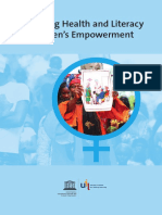 Health and Literacy for Women's Empowernment