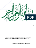 Gas Chromatography POWER POINT