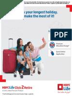 HDFC C2R Brochure