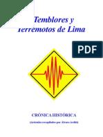 Temblores y Terremotos de Lima