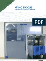 Swing Door Production Process