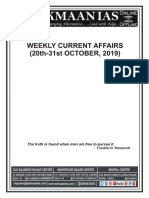 Weekly Current 20th 31st Oct. 2019 Final