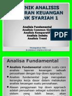 teknik analisis laporan keuangan - ALKBS
