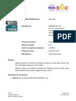 Certificado Migración HDPE