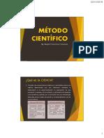 1. Metodo científico
