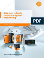 Ifm Safe and Reliable Rotational Speed Monitoring Sensors Motion Control GB