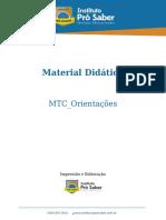 MATERIAL DIDÁTICO MTC  ORIENTAÇOES