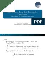 Math 23 Lecture 3.1 Mass as Triple Integrals in Rectangular Coordinates