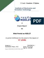 Web Portal of NIELIT