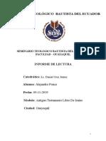 informe de lectura libro de isaias parte 1.doc