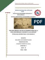 Informe Petro Sedimentaria