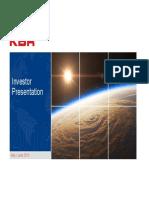 KBR IR Presentation 2018.06