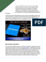 Coinbase Customer Support +1 (844) 235-1999 USA Binance Support HelpDesk