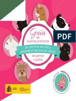 Guía de buenas prácticas de perros y gatos