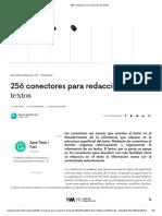 256 conectores para redacción de textos.pdf