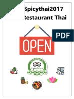 Spicy Thai Menu ORIGINAL 2