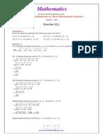 11 Maths NcertSolutions Chapter 12 2
