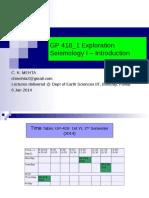 GP 418_1_ Exploration Seismology-I Introduction