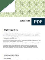 Asas Norma_ Etika Profesi_kelompok 3