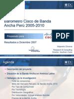Barómetro Cisco de Banda Ancha en el Perú 2007