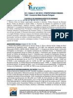 Conteudo programatico concurso publico regiao mato grande 2019