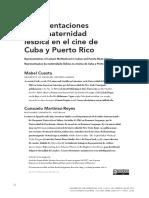 """Mabel Cuesta, Consuelo Martínez-Reyes, """"Representaciones de la maternidad lésbica en el cine de Cuba y Puerto Rico """""""