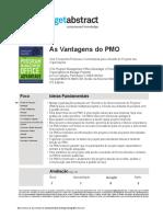Getabstract as Vantagens Do Pmo Tjahjana Pt 17585