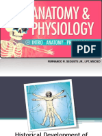 Lecture 1_Introduction to Anatomy and Physiology