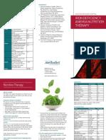 Anemia Brochure