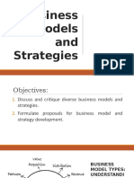 Business Models and Strategies