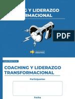 Plantilla Coaching y Liderazgo Transformacional