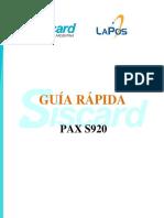 Guia de Uso - PAX S920