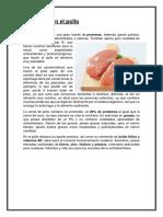 Nutrientes en El Pollo