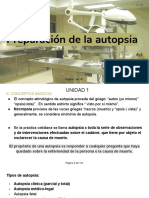 U.D.1. Preparación de La Autopsia