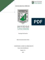 Sociología Del Derecho (Resenña 2 )