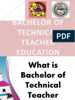 Bachelor of Technical Teacher Education