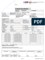 Sample Magnetic Particle Inspection report