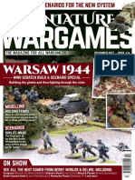 Miniature Wargames 2017-12